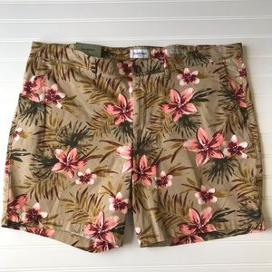 Goodfellow & Co Floral Linden Shorts Size 42